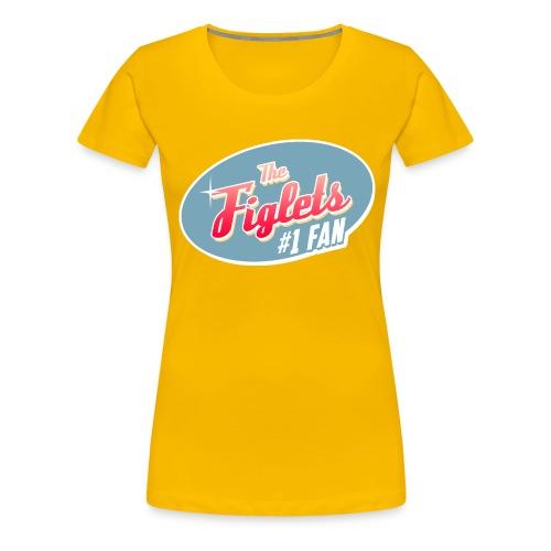 Womens Figlet Fan Shirt - Women's Premium T-Shirt