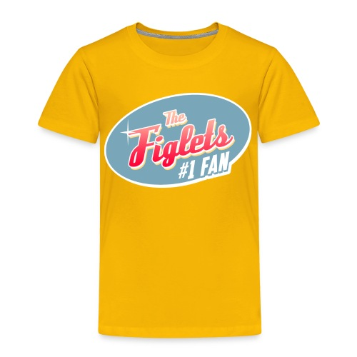 Toddler Figlet Fan Shirt - Toddler Premium T-Shirt