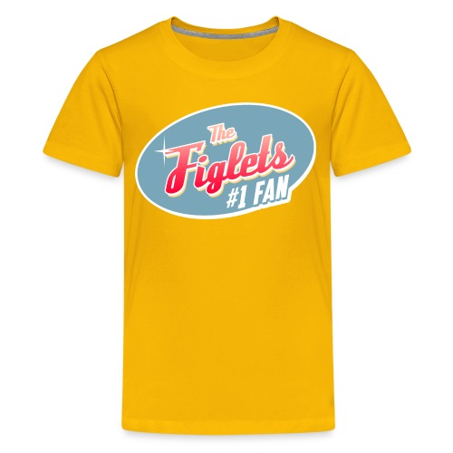 Kids Figlet Fan TShirt - Kids' Premium T-Shirt