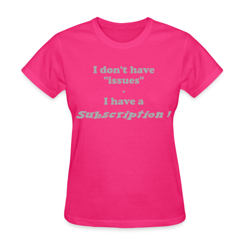 Women's Standard Subscription (Front) - Women's T-Shirt