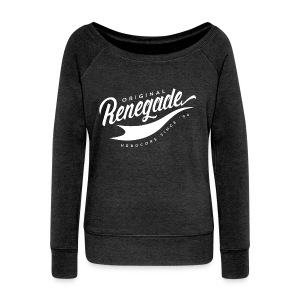 Ladies Renegade Original Wideneck Sweatshirt - Women's Wideneck Sweatshirt