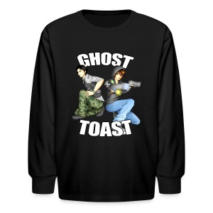 Ghost & Toast - Kids' Long Sleeve T-Shirt