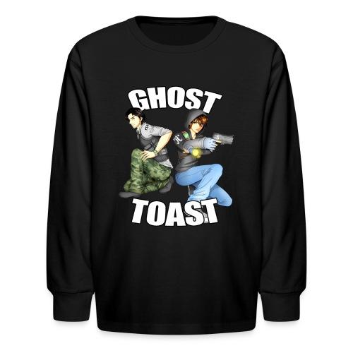 Ghost & Toast - Kids' Long Sleeve T-Shirt
