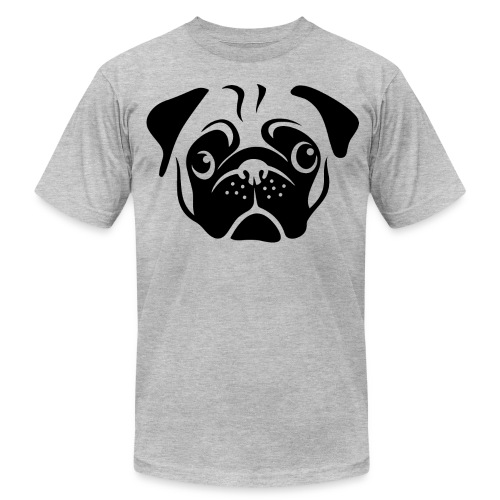 Pug Face - Men's  Jersey T-Shirt