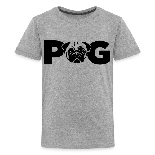 Pug Face - Kids' Premium T-Shirt
