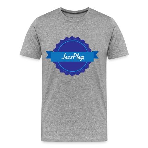 Mens JazzPlays Emblem - Men's Premium T-Shirt