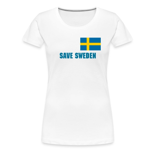 Save Sweden Women's T - Women's Premium T-Shirt
