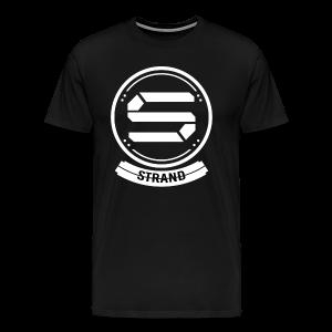 Strand Premium 'BADGE' Tshirt  - Men's Premium T-Shirt