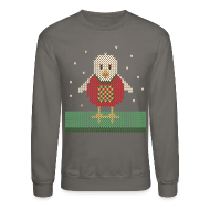Long Sleeve Shirts ~ Crewneck Sweatshirt ~ Chicken stitch
