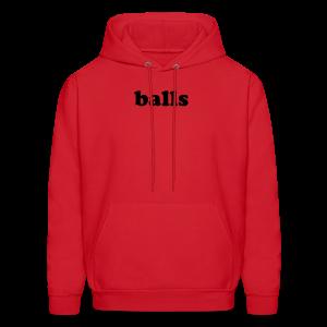 Balls - Men's Hoodie