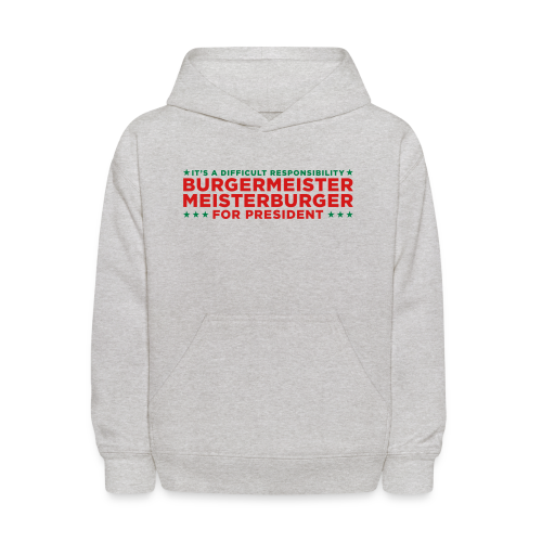 Vote for Burgermeister - Kids' Hoodie