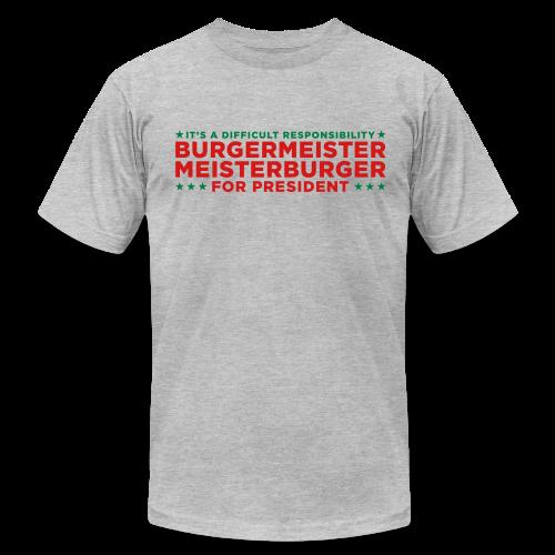 Vote for Burgermeister - Men's Fine Jersey T-Shirt