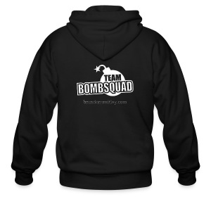 Team Bomb Squad - Men's Zip Up - Men's Zip Hoodie
