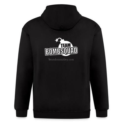 Team Bomb Squad - Men's Zip Up - Men's Zip Hoodie