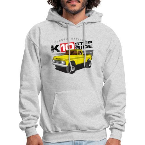 K10 Stepside 4x4 PREMIUM ART Hooded Sweatshirt - Men's Hoodie