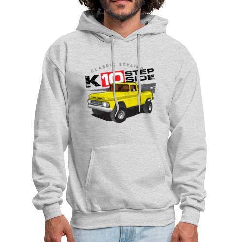 K10 Stepside 4x4 PREMIUM ART Hooded Sweatshirt - Men's Hoodie