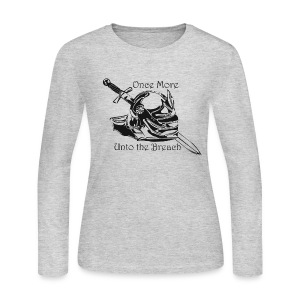 Ladies - Once Again... Long Sleeve - Women's Long Sleeve Jersey T-Shirt