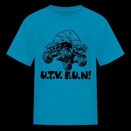 UTV fun jump - Kids' T-Shirt