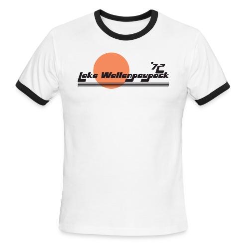 Lake Wallenpaupack Retro Ringer Tee - Men's Ringer T-Shirt