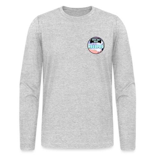 HBGoPro Crewneck Longsleeve T-Shirt - Men's Long Sleeve T-Shirt by Next Level
