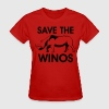 save the winos - Women's T-Shirt