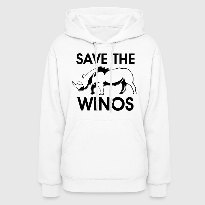 save the winos - Women's Hoodie
