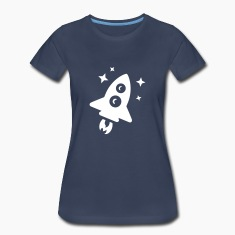 Space Rocket Women's T-Shirts