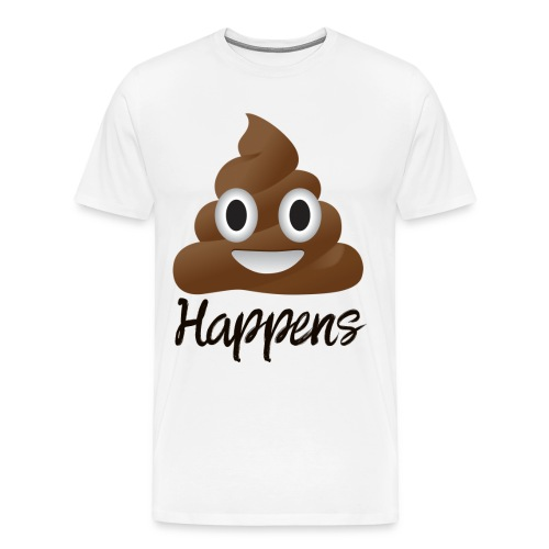 Shit Happens - Men T-Shirt - Men's Premium T-Shirt
