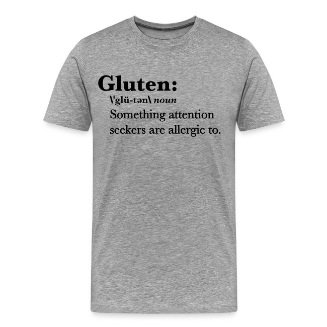 Gluten Premium Quality Tee