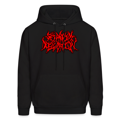 Seraphim Defloration Red Alternate Logo/Slam Worldwide Logo Hoodie  - Men's Hoodie