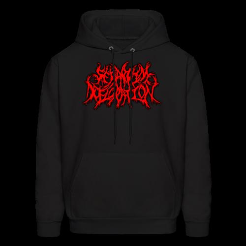 Seraphim Defloration Red Alternate Logo/Slam Worldwide Logo Hoodie  - Men's Hoodie