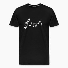 music notes T-Shirts