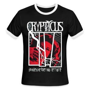 Crypticus Man's Insieme Verso Terrore Ringer T-Shirt - Men's Ringer T-Shirt