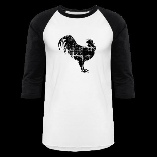 Rooster Baseball T-Shirt - Baseball T-Shirt