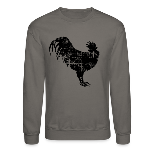 Rooster Crewneck Sweatshirt - Crewneck Sweatshirt