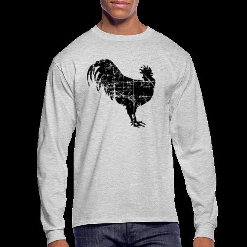Rooster Longsleeve - Men's Long Sleeve T-Shirt