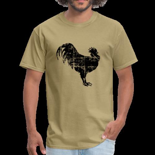 Rooster T-Shirt - Men's T-Shirt