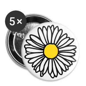 Daisy Button - Large Buttons
