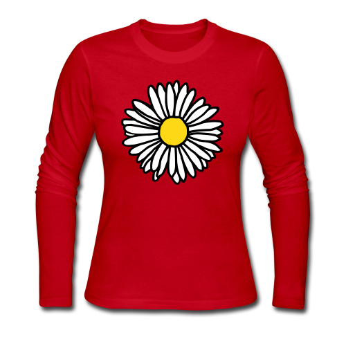Daisy Longsleeve - Women's Long Sleeve Jersey T-Shirt