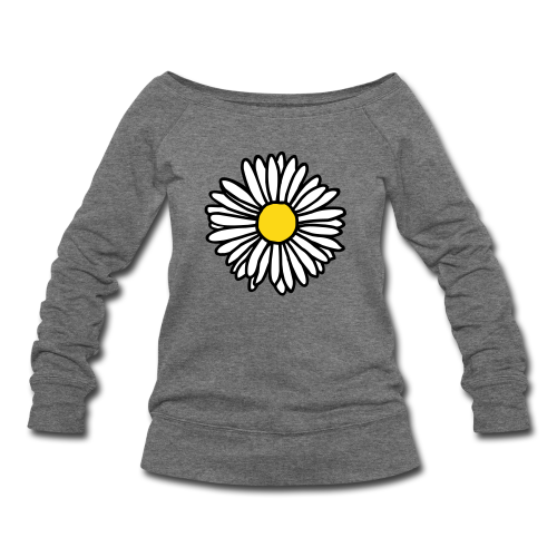 Daisy Sweatshirt - Women's Wideneck Sweatshirt