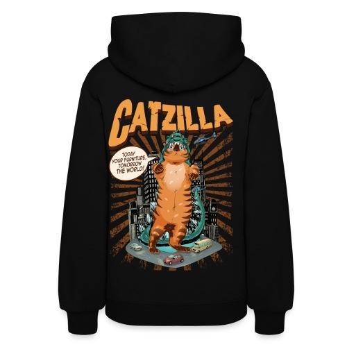 Women's CATZILLA Pullover Hoodie - Women's Hoodie