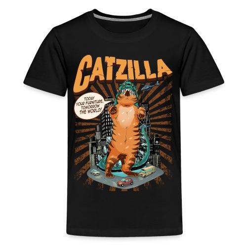 Kid's CATZILLA T-Shirt - Kids' Premium T-Shirt