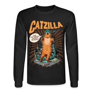 Men's CATZILLA Long-Sleeve Shirt - Men's Long Sleeve T-Shirt