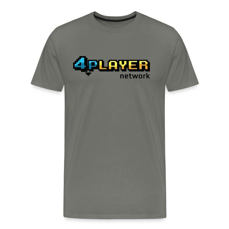 4PlayerNetwork Logo T-Shirt - Men's Premium T-Shirt