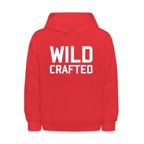 WILD CRAFTED KIDS HOODIE RED - Kids' Hoodie