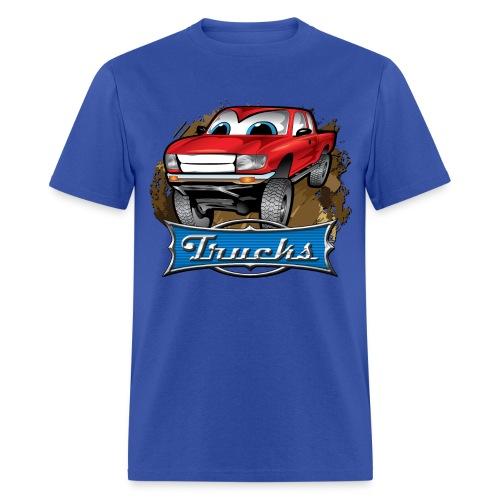 Trucks Movie Cartoon Shirt - Men's T-Shirt