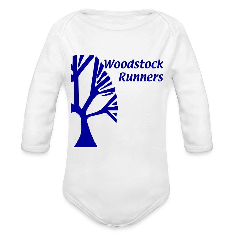 adult_wood - Long Sleeve Baby Bodysuit