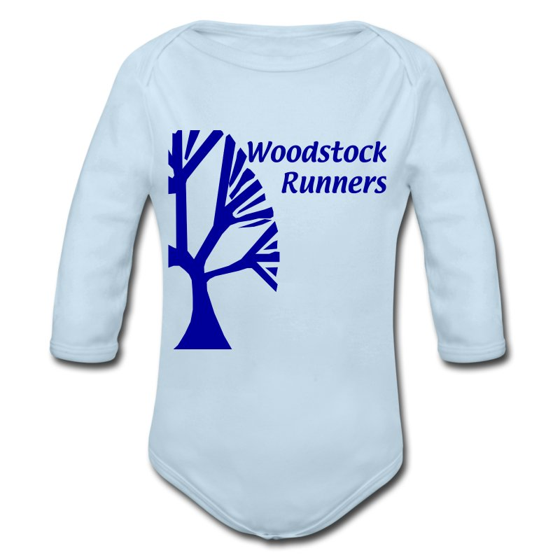 adult_wood - Long Sleeve Baby Bodysuit