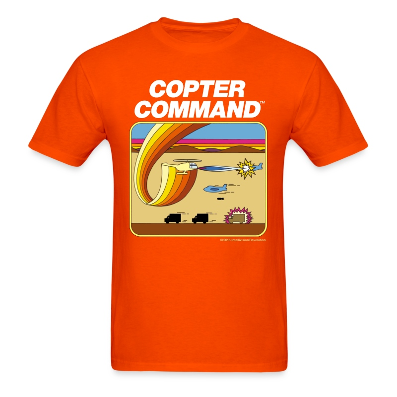 Copter Command standard shirt - Men's T-Shirt