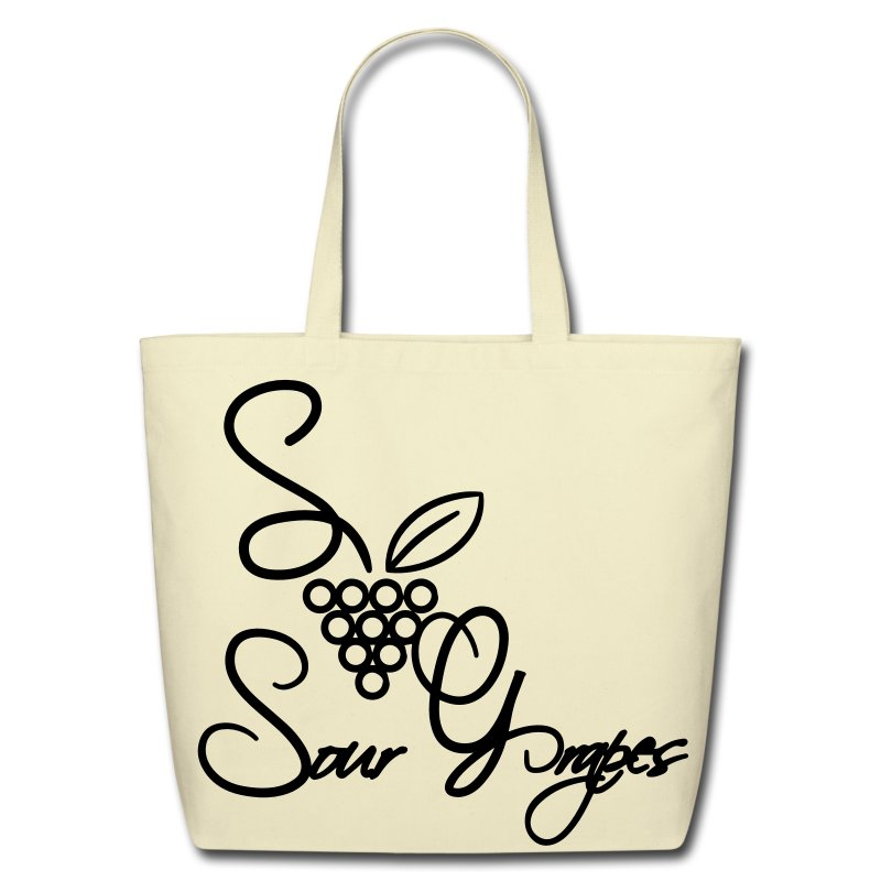 Lady Grapes - Eco-Friendly Cotton Tote